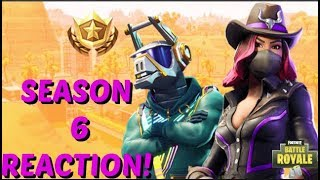 FORTNITE SEASON 6 BATTLE PASS REACTION!!! (Fortntie)