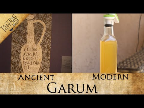 I finally made GARUM | Ancient Rome's favorite condiment