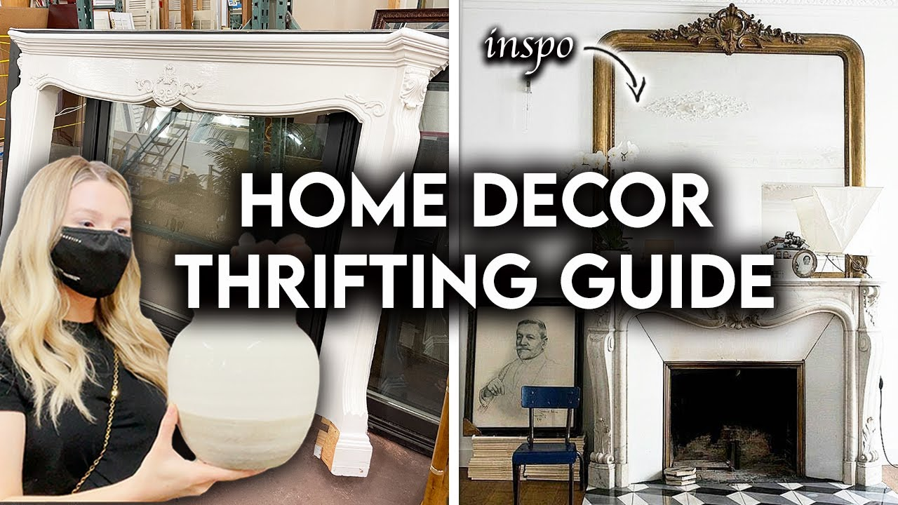 THRIFT SHOP WITH ME 2021 | HOME DECOR + FURNITURE ON A BUDGET