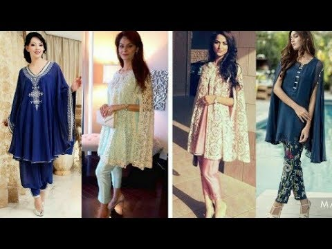 Beautiful Pakistani Cape Dresses With Sleeves Style|Latest cape dress collection|Beautiful you|