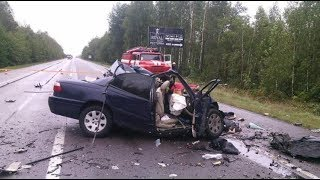 Жуткие аварии от первого лица