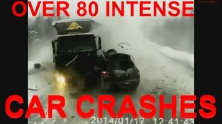 over 80 car crashes - more than 80 intense car crashes - 80 crazy car crashes - 80 top car crashes
