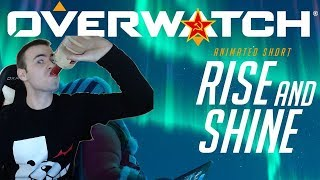 """RUSSIAN REACTS to Overwatch Animated Short 