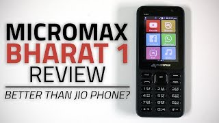 Micromax Bharat 1 Review | 4G Feature Phone with WhatsApp, Wi-Fi Hotspot