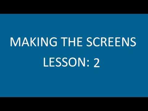 Make the Screens
