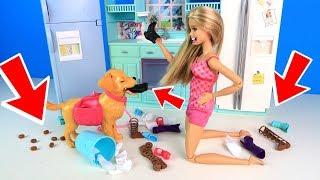 Утро без Девочек или Джекки Шалунишка Мультик #Барби Сериал Играем в Куклы Ай куклативи