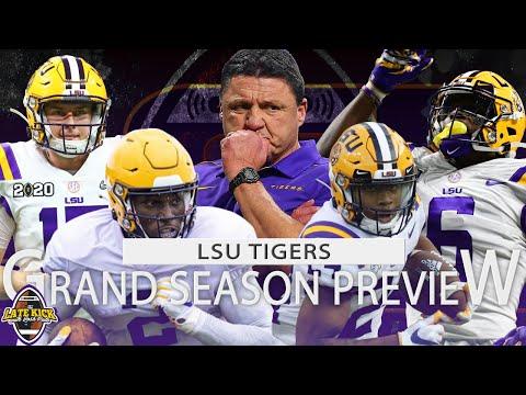 LSU Football Grand Season Preview + Predictions (Late Kick Cut)