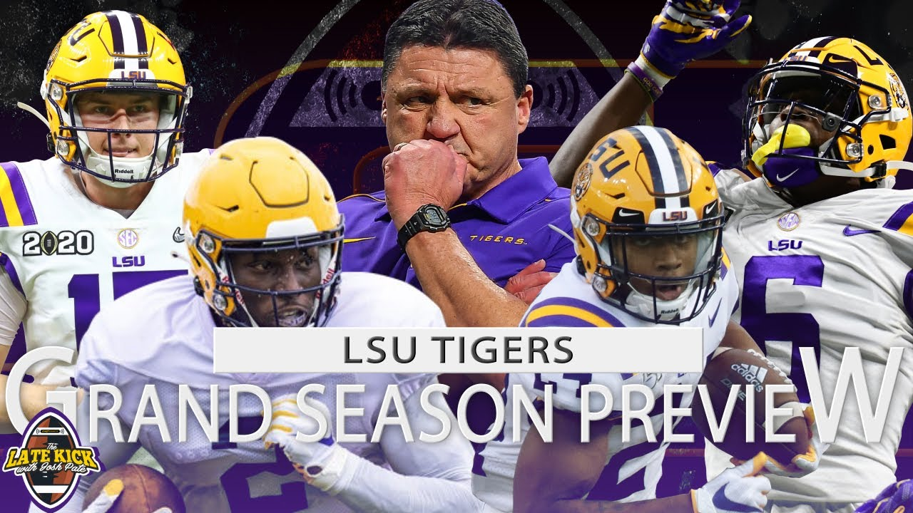 Lsu Football Grand Season Preview Predictions Late Kick Cut Youtube