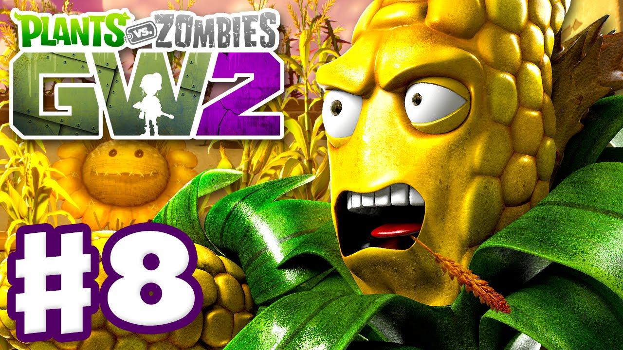 Plants Vs Zombies Garden Warfare 2 Play Part 8 Kernal Corn Questultiplayer Pc