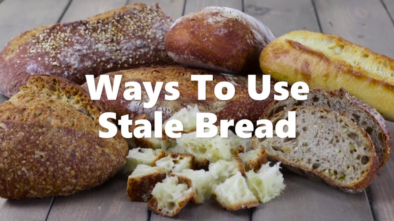 7 Ways to Use Stale Bread Video