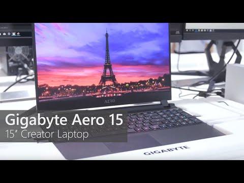 Gigabyte Aero 15 - First Azure AI Laptop