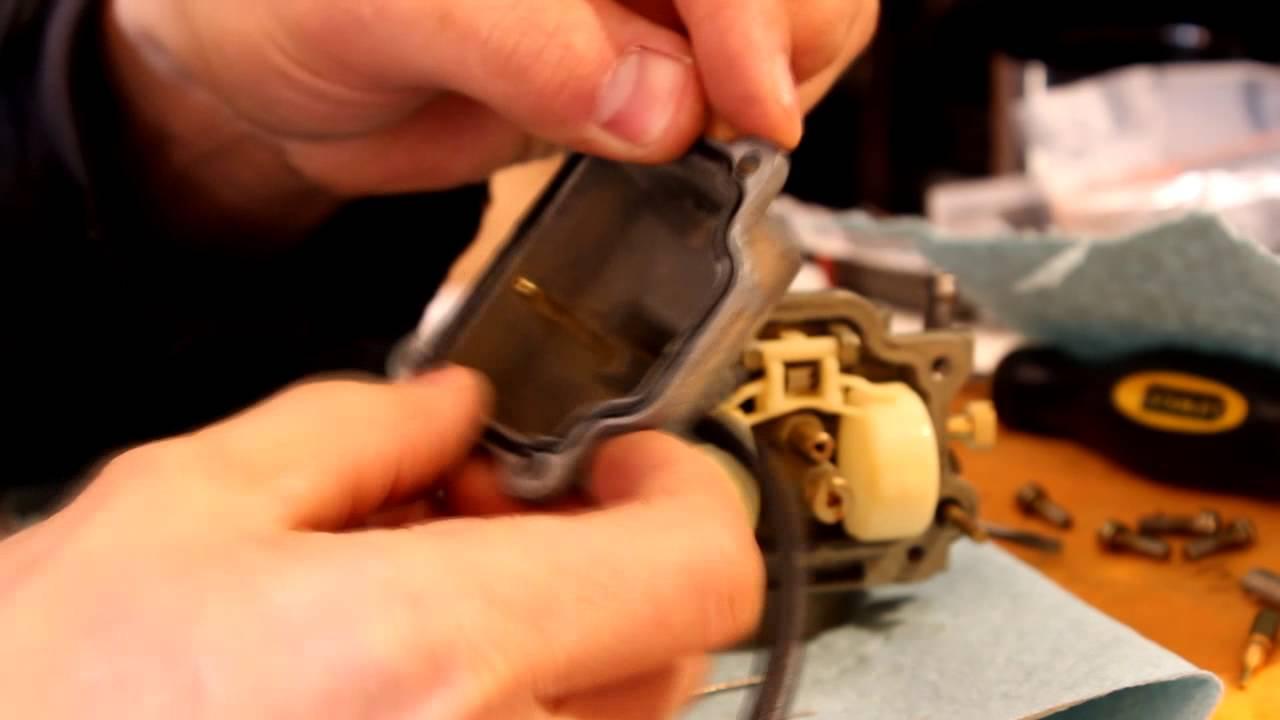 Carb / Carburetor rebuild Dirt Bike Yahama TTR kit repair - YouTube