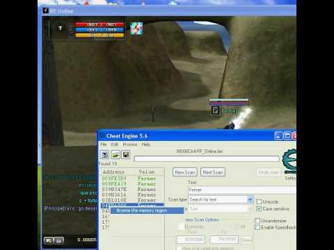 Rf online fly hacking tutorial