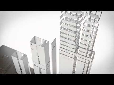 Le chantier du futur palais de justice de Paris