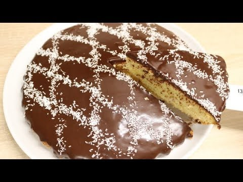 Gateau Au Yaourt Et Glacage Au Chocolat Facile Cuisinerapide Youtube