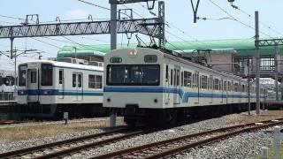 2010年5月31日撮影。隣りの東武8000系は8535F+8547F+8543F+8528Fの廃車...