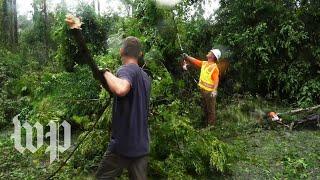 'A war zone': Viewing Florence's damage along the Carolina coast