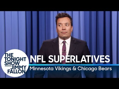 Tonight Show Superlatives: 2018 NFL Season - Vikings and Bears
