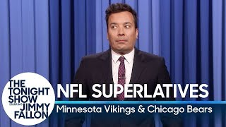Tonight Show Superlatives: 2018 NFL Season - Vikings and Bears