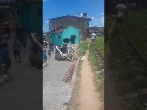 Derrubaram as casas da linha em Santo Onofre, Palmares-PE 19/03/2019