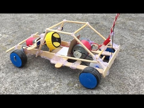 Homemade Remote Control Car - Awesome Toy
