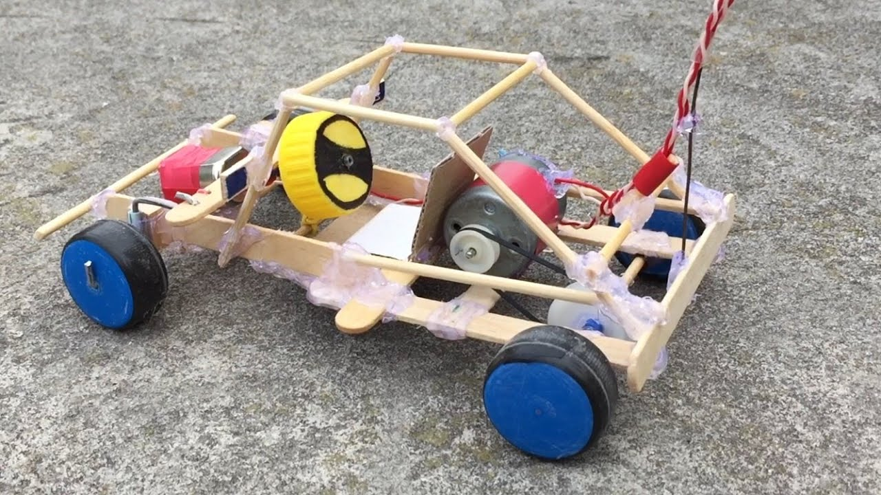 Homemade Electric Rc Cars