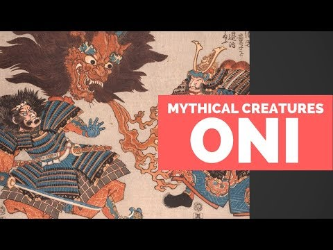 Oni - Mythical Creatures Beastiary