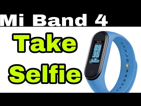 How to control camera with Mi Band 4   How to click Selfie   Hindi   Pratik