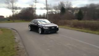 ECS Tuning: Audi B8 A4 Kohlfaser Luft-Technik Soundclip