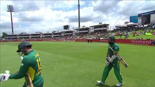 South Africa vs Sri Lanka - 5th ODI - SA Innings Highlights