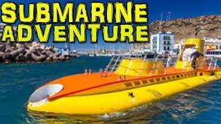 Yellow SUBMARINE ADVENTURE - Puerto de Mogan - Gran Canaria 4K