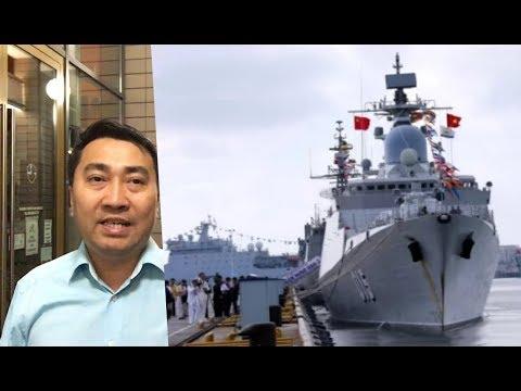 Tập Trận Mỹ, VN đưa Tàu Nát – Tới TQ, Hà Nội điều Chiến Hạm
