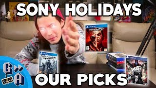 Game Away Holiday Guide 2017 - Sony