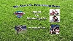 2016 St. Petersburg Bowl (Miami OH v Mississippi St.) One Hour