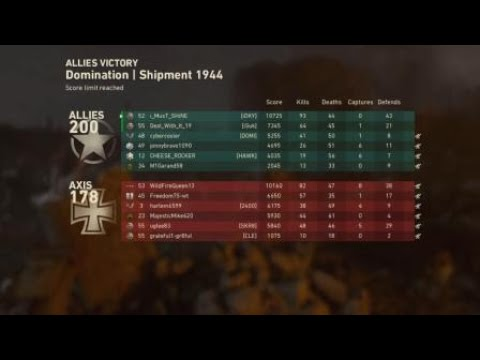 Call of Duty®: WWII Deal and i find a good lobby!