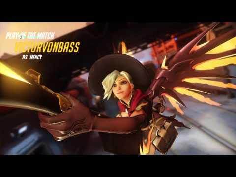 S3: Mercy Watchpoint Gibraltar multi res PotG (Feat Radio and Saiyan)