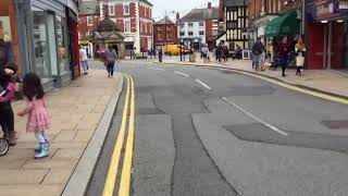 Uttoxeter Town Centre Staffordshire