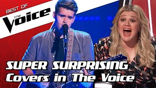 The most SURPRISING COVERS on The Voice #2 | TOP 10