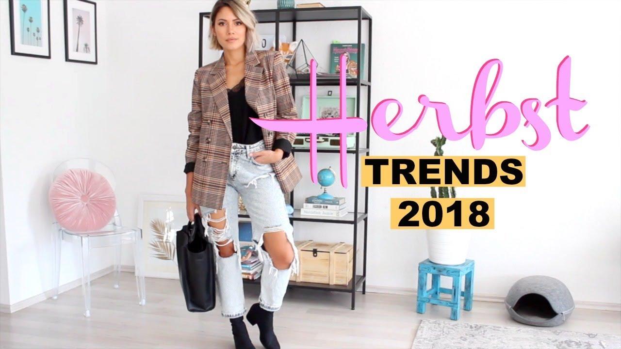 Fashion Trends Herbst 2018 Meine Lieblinge Lookbook Funnypilgrim