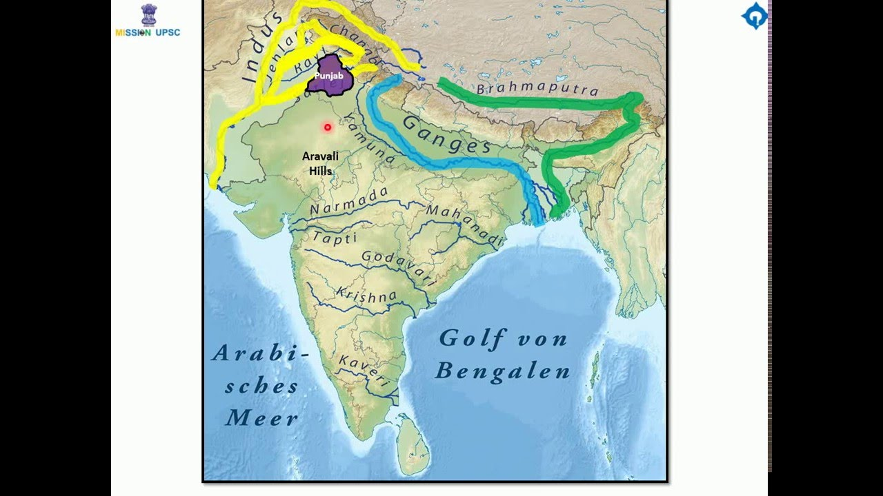 CSE PREPARATION : HISTORY TUTORIAL 2 , IMPORTANCE OF INDO ... Indo Gangetic Plain Map