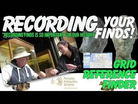 Recording your metal detecting finds. Portable Antiquities Scheme