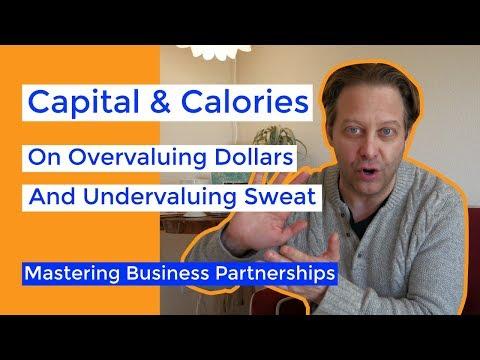 Negotiating Startup Equity Splits (Valuing Sweat vs. Capital)
