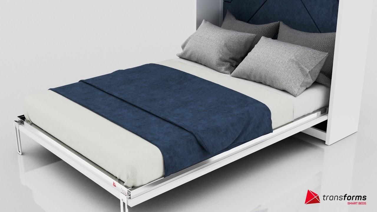 łóżko Ukryte W Szafie Smartbed 4