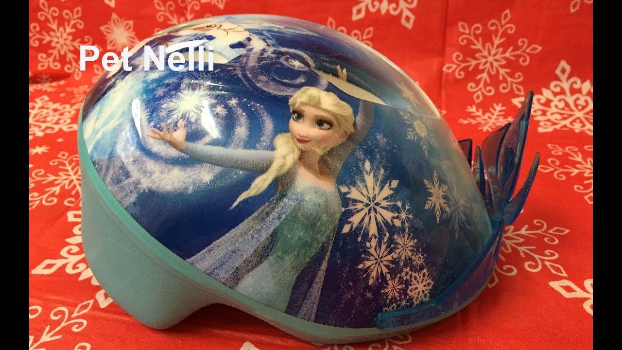 Bell Sports Disney Frozen 3D Child Bike Helmet - Frozen Helmet