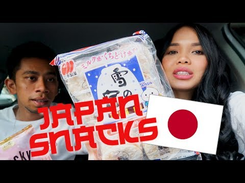 Malaysian Couple Try Snacks From Japan! (BUKAN BESHE BESHE)