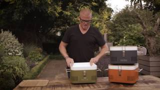 CUBE Portable Charcoal Barḃeque - Everdure by Heston Blumenthal Available At The Good Guys