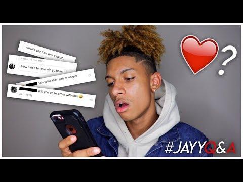 Do I Have A Girlfriend!? #JayyQnA || Kobe Jayy