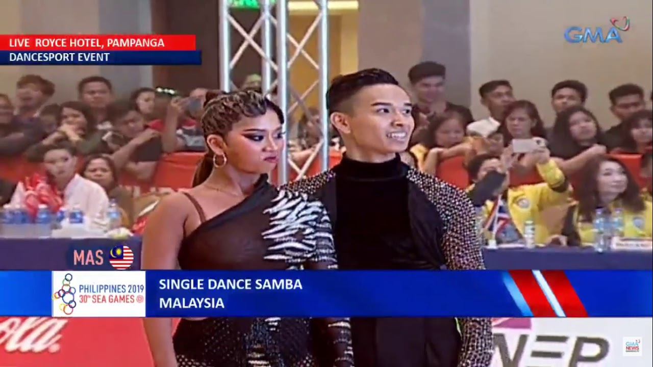 SEA Games 2019 - Dancesport | Single Dance Samba All Dancers - Latin Discipline
