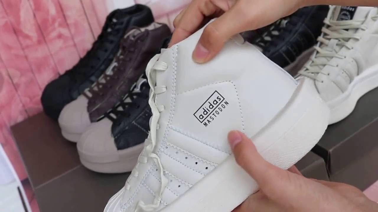 REVIEW Adidas x Rick Owens Mastodon Neutrals From Yeezysboost net - YouTube 4ba7acb3e