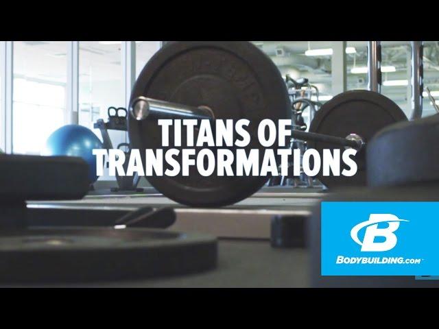 Bill Phillips & Ryan DeLuca: Titans Of Transformation - Bodybuilding.com [YouTube 動画] クリックで動画がスタンバイされ、もう1回クリックすると再生します